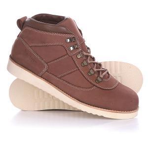 Ботинки зимние  Tim Urban Brown Rheinberger. Цвет: коричневый