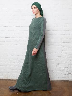 Платье из костюмной ткани двухцветное Bella kareema