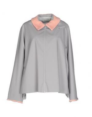 Куртка THOMAS TAIT. Цвет: светло-серый