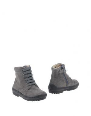 Полусапоги и высокие ботинки NATURINO. Цвет: серый