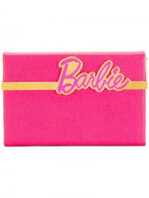 Клатч Barbie Vanina Charlotte Olympia. Цвет: розовый и фиолетовый