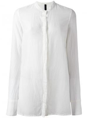 Рубашка Korean Poème Bohémien. Цвет: белый