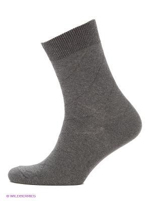 Мужские носки Burlesco. Цвет: серый