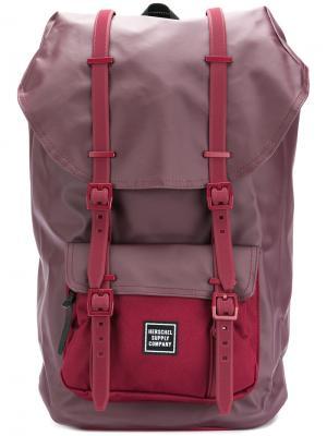 Рюкзак Little America Herschel Supply Co.. Цвет: розовый и фиолетовый