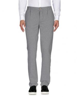 Повседневные брюки COOPERATIVA PESCATORI POSILLIPO. Цвет: серый