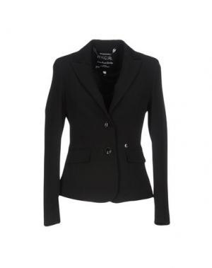 Пиджак FLY GIRL. Цвет: черный