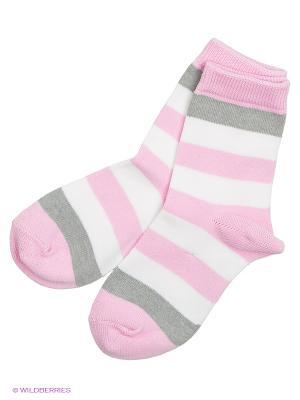 Носки Reima. Цвет: розовый, красный