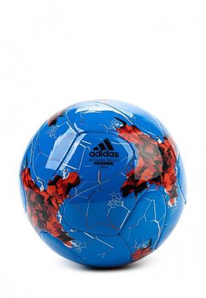 Мяч футбольный adidas Performance. Цвет: синий
