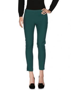 Повседневные брюки HANITA. Цвет: изумрудно-зеленый