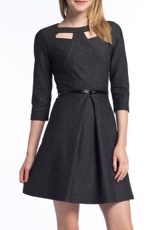 Платье Duse. Цвет: серый