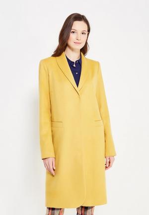 Пальто DuckyStyle. Цвет: желтый