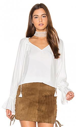 Блузка lanie RAMY BROOK. Цвет: белый