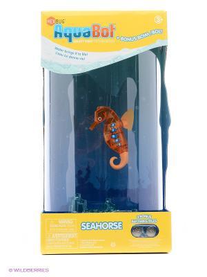 Набор Aqua Bot Морской конек с большим аквариумом HEXBUG. Цвет: оранжевый
