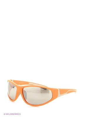 Солнцезащитные очки Vita pelle. Цвет: оранжевый