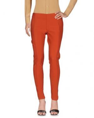 Повседневные брюки SALLY NEW YORK. Цвет: ржаво-коричневый
