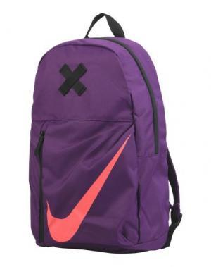 Рюкзаки и сумки на пояс NIKE. Цвет: темно-фиолетовый