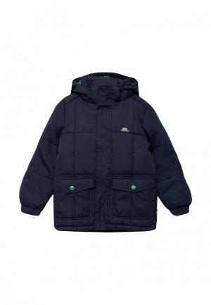 Куртка утепленная Trespass. Цвет: синий
