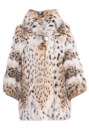 Шуба из меха рыси 154908 Pt Quality Furs. Цвет: разноцветный
