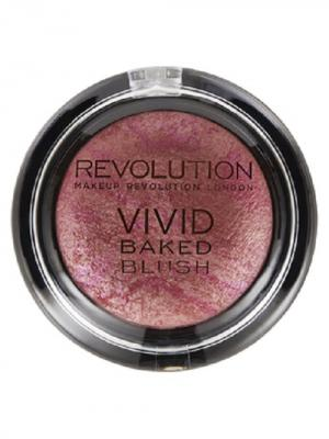 Румяна Vivid Baked Blushers All I think about is you MakeUp Revolution. Цвет: темно-фиолетовый
