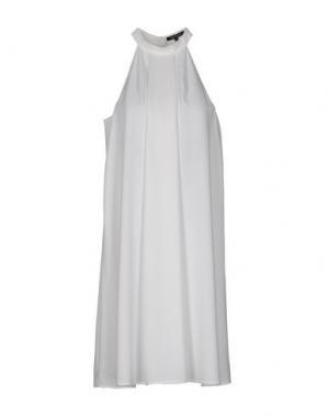 Короткое платье TARA JARMON. Цвет: белый