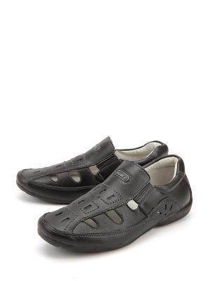 Туфли Kiddico. Цвет: черный