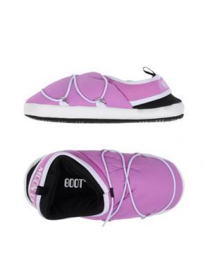 Домашние туфли MOON BOOT. Цвет: фиолетовый