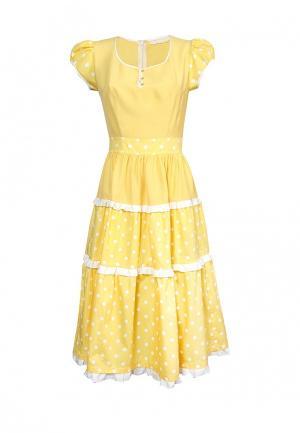 Платье Maria Rybalchenko. Цвет: желтый