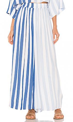 Широкие брюки layla Mara Hoffman. Цвет: синий