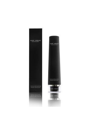 Омолаживающий крем-экcфолиант (скраб для лица) MARC INBANE Black Exfoliator, 75 мл. Цвет: черный, прозрачный