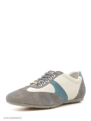 Туфли Franco Bellucci. Цвет: серый