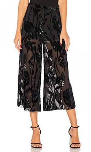 Прозрачные брюки с высоким поясом jet lagged Chrissy Teigen. Цвет: черный