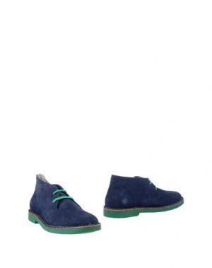 Полусапоги и высокие ботинки WALLY WALKER. Цвет: темно-синий