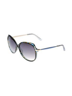 Солнцезащитные очки Gusachi. Цвет: коричневый, золотистый, синий, сиреневый
