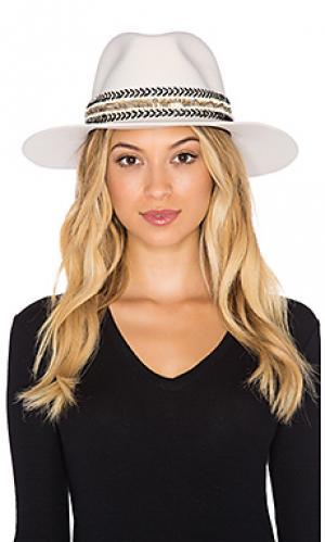 Шляпа birkin vega KIN/K. Цвет: кремовый