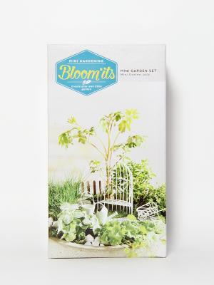 Набор для мини сада Bloomits. Цвет: белый