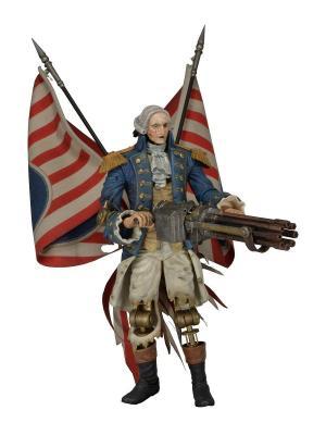 Фигурка Bioshock Infinite 9 George Washington Patriot Neca. Цвет: синий, белый, золотистый, красный