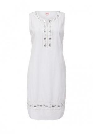 Платье Indiano Natural. Цвет: белый