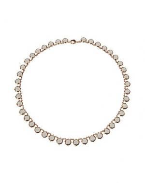 Ожерелье CA&LOU. Цвет: серый