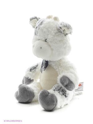 Игрушка мягкая (Cowslip Cow, 28 см). Gund. Цвет: белый, серый