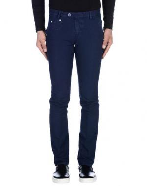 Повседневные брюки BERWICH. Цвет: темно-синий