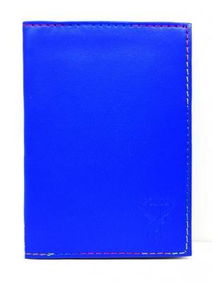 Обложка для автодокументов PORTE. Цвет: индиго