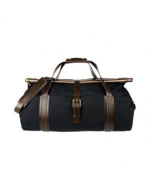 Дорожная сумка MISMO. Цвет: темно-синий