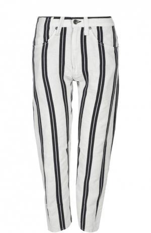 Джинсы Rag&Bone. Цвет: черно-белый