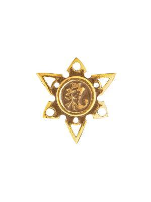 Амулет защитный Знак Ци Aztek. Цвет: желтый