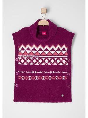 Пуловер S.OLIVER. Цвет: розовый