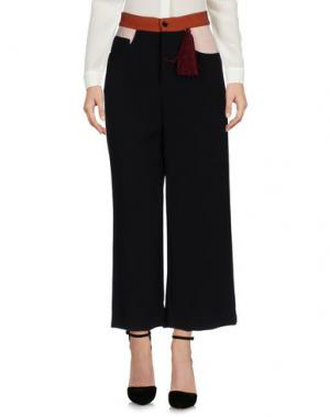 Повседневные брюки AU JOUR LE. Цвет: черный
