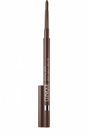 Автоматический карандаш для век Slim Sable Clinique. Цвет: бесцветный