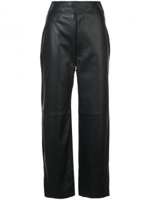 Широкие брюки с завышенной талией Apiece Apart. Цвет: синий