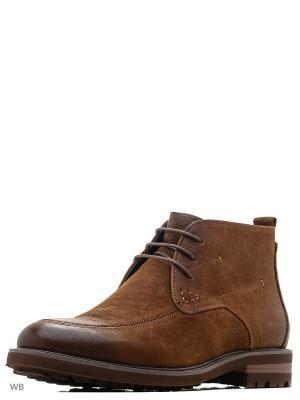 Ботинки Mario Ponti. Цвет: рыжий