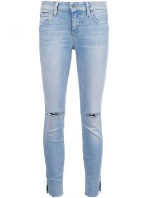 Джинсы кроя скинни  Icon Ankle Joes Jeans Joe's. Цвет: синий